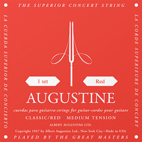 Augustine Classical Red guitar strings