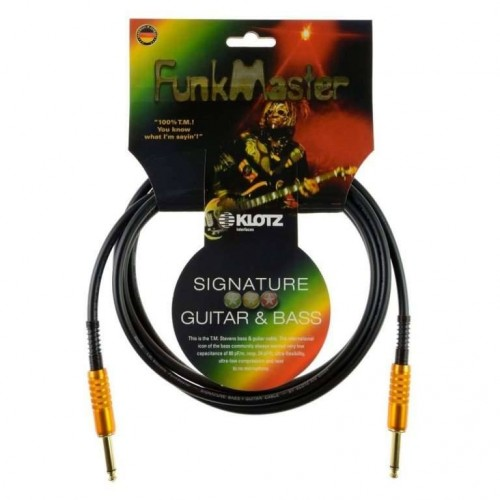 Klotz TM Stevens Funkmaster 3m Guitar Cable
