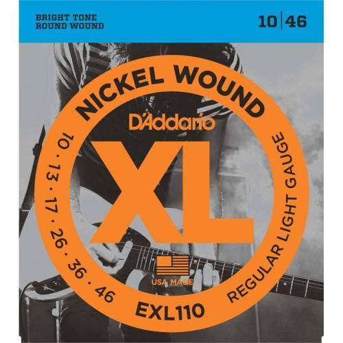D'Addario 10-46 EXL110 Electric guitar strings