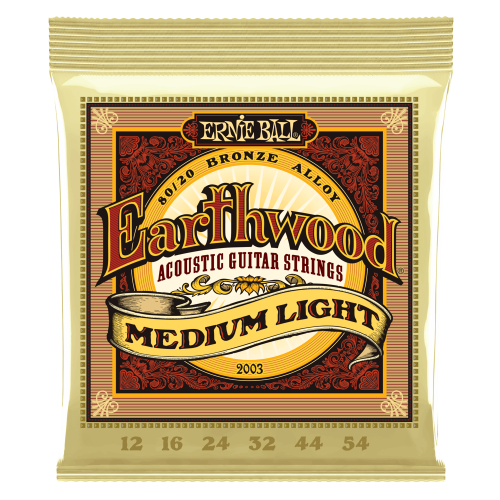 Ernie Ball Earthwood 12-54 Acoustic Medium Light