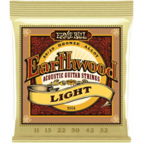Ernie Ball Earthwood 11-52  Acoustic Light