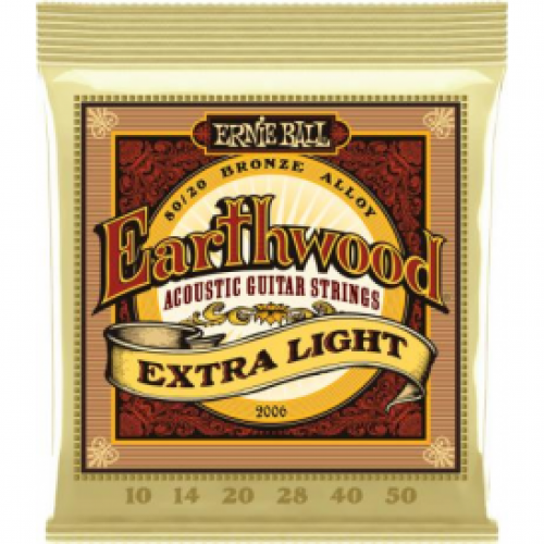 Ernie Ball Earthwood  Acoustic 10-50 Extra Light