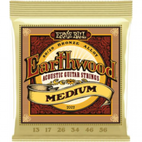 Ernie Ball Earthwood 13-56 Acoustic Medium Light