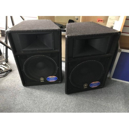 Yamaha S115V speakers (Pre-owned)