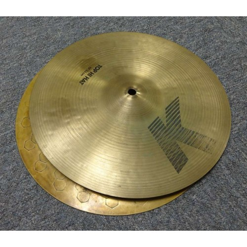 """Zildjian K 13"""" HI Hats (Pre-owned)"""