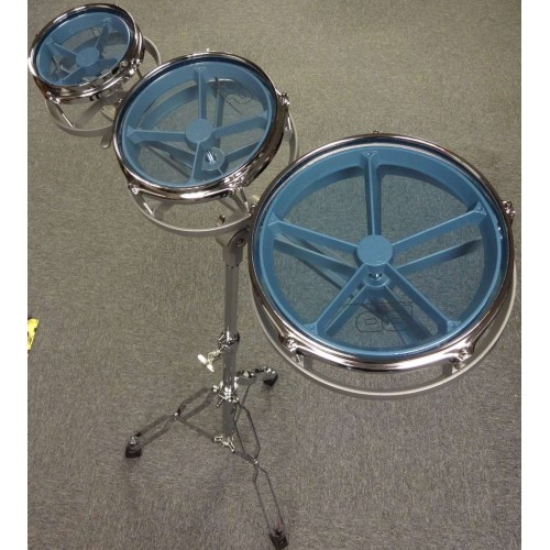 "Roto Toms 6"" 8"" 10"" inc Stand"