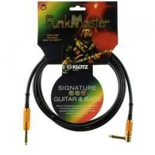 Klotz Funk Master 3m Superior Signature cable, Jack/ R Angle