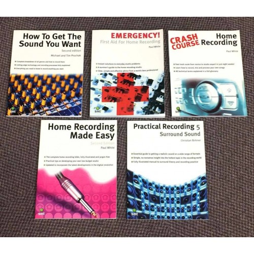 CRAZY SALE!!! Studio Recording Books