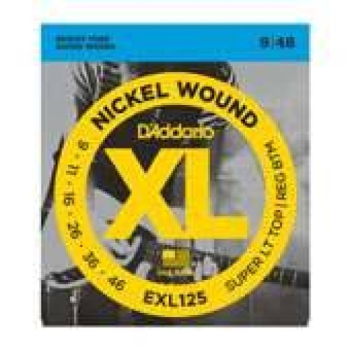 D'Addario 9-46 EXL125 Electric guitar strings