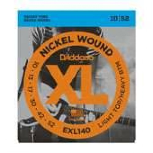 D'Addario 10-52 EXL140 Electric guitar strings