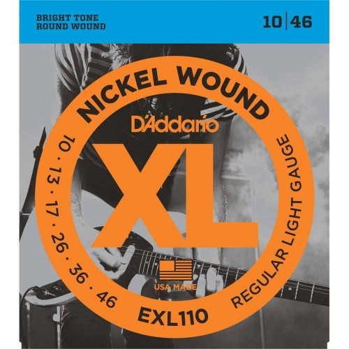 D'Addario 10-46 EXL110 Electric guitar strings